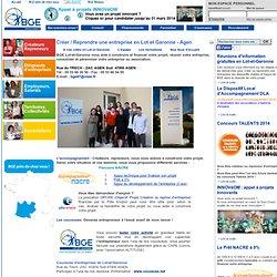 BGE - Créer / Reprendre une entreprise en Lot et Garonne - Agen