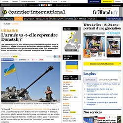 L'armée va-t-elle reprendre Donetsk