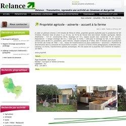 Relance Cévennes : Reprendre une entreprise en Cévennes ou Margeride (Gard, Lozère)