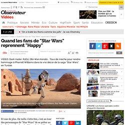 """Quand les fans de """"Star Wars"""" reprennent """"Happy"""""""
