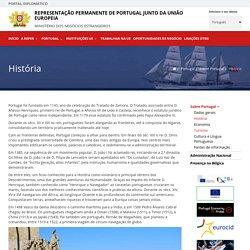História - Sobre Portugal - Portugal - Representação Permanente de Portugal junto da União Europeia