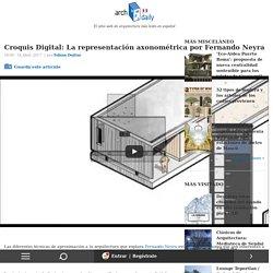Croquis Digital: La representación axonométrica por Fernando Neyra
