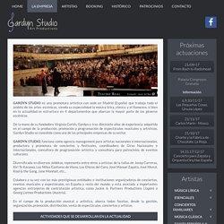 Representación de artistas, management, productora de conciertos Madrid España