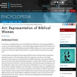 Art: Representation of Biblical Women