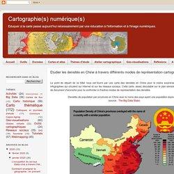 Etudier les densités en Chine à travers différents modes de représentation cartographique