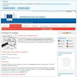 Emplois et stages - Représentation en France de la Commission européenne