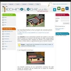 La représentation d'un projet de construction — technologie.ws
