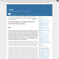 Une étude belge sur la représentation de la diversité dans la presse