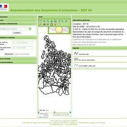 Représentation des documents d'urbanisme - DDT 65
