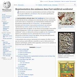 Représentation des animaux dans l'art médiéval occidental