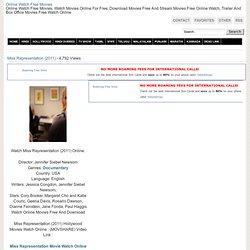 Watch Movie Miss Representation (2011) Free Online
