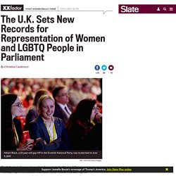 The U.K. sets new records for representation of women and LGBTQ people in parliament.