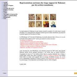 Représentations anciennes du visage supposé de Mahomet par des artistes musulmans