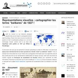 Cartes Terres barbares XIXè