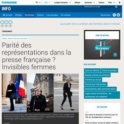 Parité des représentations dans la presse française ? Invisibles femmes