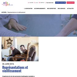 Représentations et vieillissement - Adapei Loire