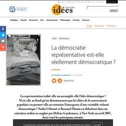 La démocratie représentative est-elle réellement démocratique ?
