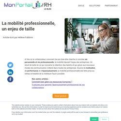 Que représente la mobilité professionnelle ?