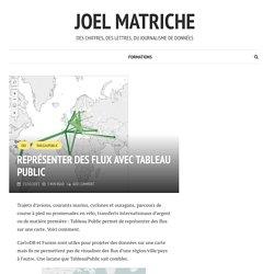 Représenter des flux avec Tableau Public – joel matriche