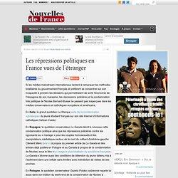 Les répressions politiques en France vues de l'étranger