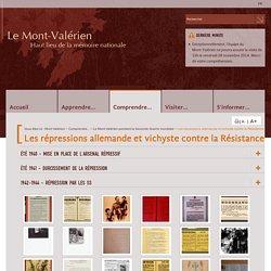 Les répressions allemande et vichyste contre la Résistance - Le Mont-Valérien pendant la Seconde Guerre mondiale - Le Mont Valerien, haut lieu de la mémoire nationale