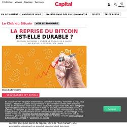 La reprise du Bitcoin est-elle durable
