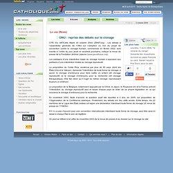 ONU: reprise des débats sur le clonage - La une (News) - Catholique.org