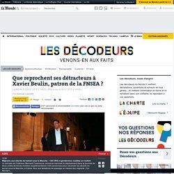 Que reprochent ses détracteurs à Xavier Beulin, patron de la FNSEA?