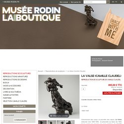 La Valse. Camille Claudel. Reproduction de sculpture officielle du musée Rodin.