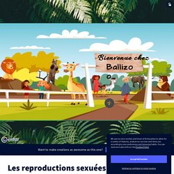 Les reproductions sexuées by Clémentine JONO BALLIGAND on Genially