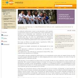 Salud sexual y reproductiva en adolescentes y jóvenes