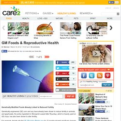 GM Foods & Reproductive Health