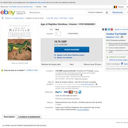Age of Reptiles Omnibus, Volume 1 9781595826831