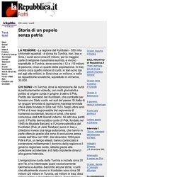 la Repubblica/fatti: Storia di un popolo senza patria