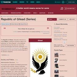 Republic of Gilead (Series)
