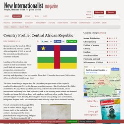Country Profile: Central African Republic