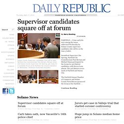 Daily Republic | Solano County's Breaking News Source