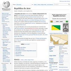 República do Acre