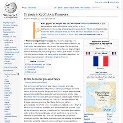 Primeira República Francesa