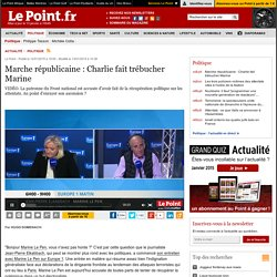 Marche républicaine : Charlie fait trébucher Marine