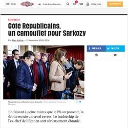 Côté Républicains, uncamoufletpour Sarkozy