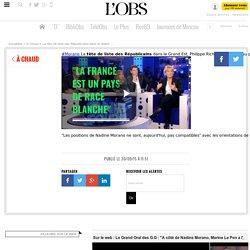 La tête de liste des Républicains dans le Grand Est, Philippe Richert, demande au parti de retirer l'investiture de Nadine Morano