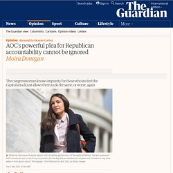 AOC's powerful plea for Republican accountability cannot be ignored