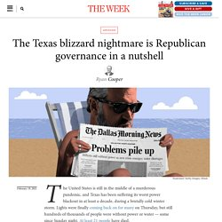 The Texas blizzard nightmare is Republican governance in a nutshell