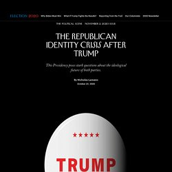 The Republican Identity Crisis After Trump
