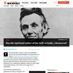 Review: History Lincoln's Republican Party Heather Cox Richardson | The New Republic