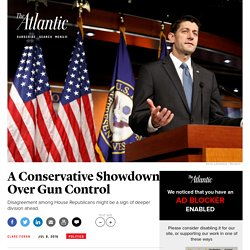 House Republicans Remain Divided Over Gun Control After Deadly Shootings