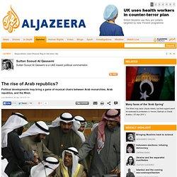 The rise of Arab republics?