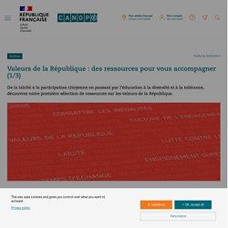 Valeurs de la République : des ressources pour vous accompagner (1/3)