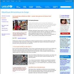 Le travail des enfants en RDC : casser des pierres et briser tout potentiel